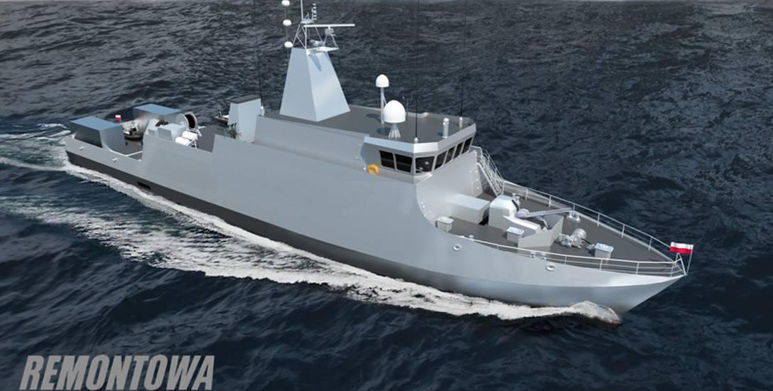 Budowa drugiego niszczyciela min projektu Kormoran II w stoczni Remontowa Shipbuilding SA