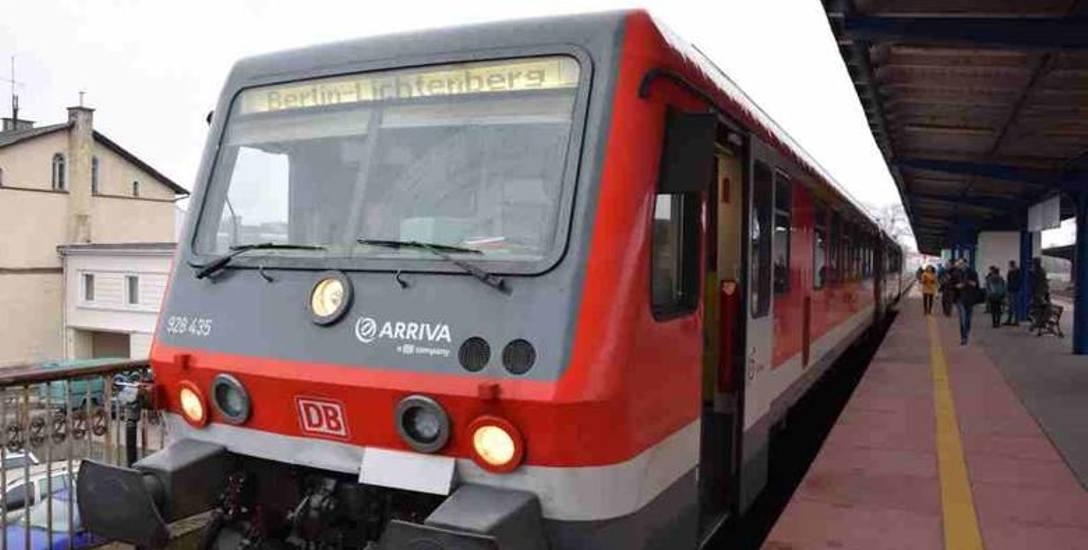 Pociąg do Berlina wyjechał z Gorzowa o 8.28.