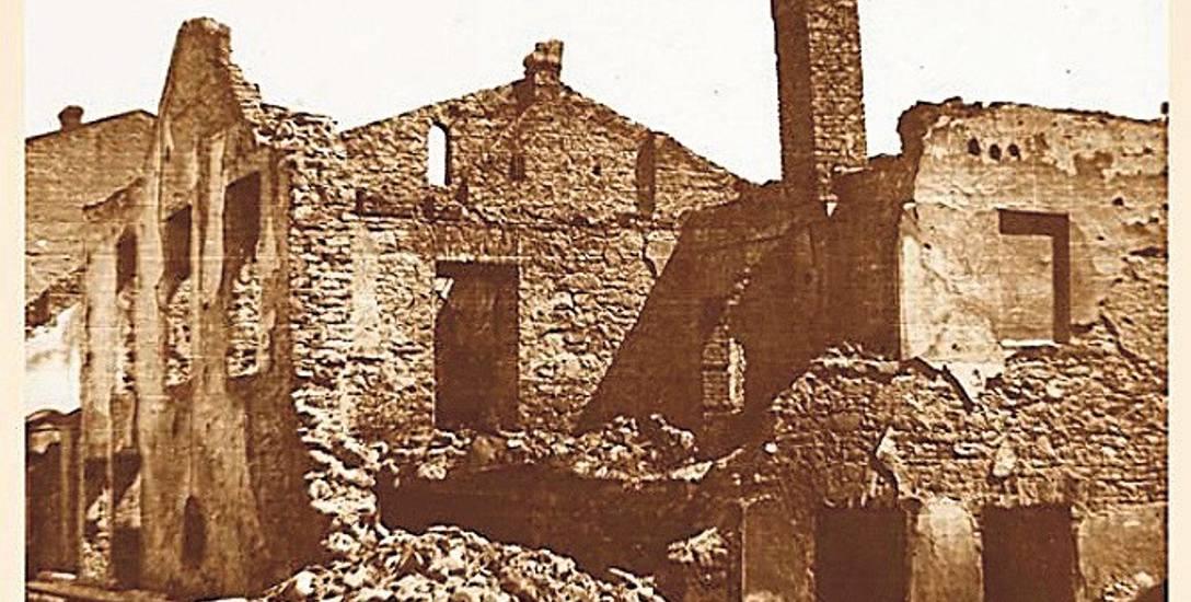 W 1944 r. niemiecki starosta wydał rozkaz zniszczenia Jasła