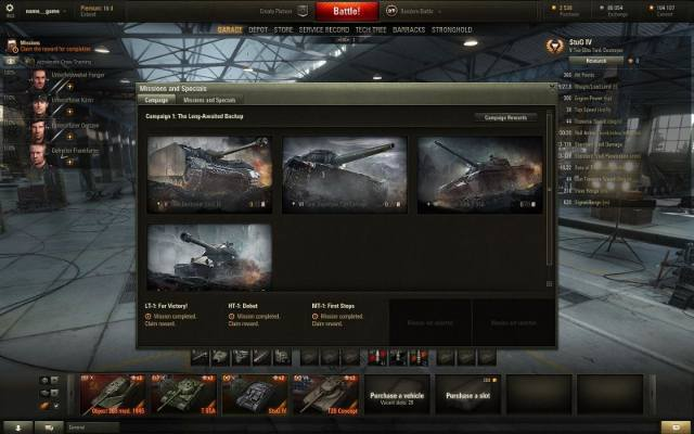 World of Tanks: Misje osobiste już są