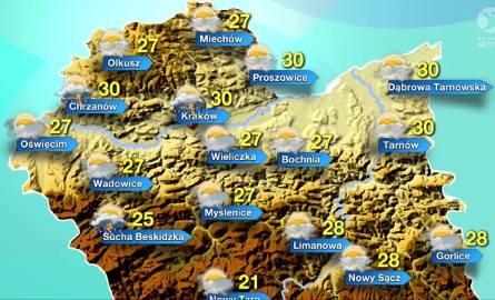 Ostrzeżenie meteo: Burze z gradem oraz upał [KRÓTKO]