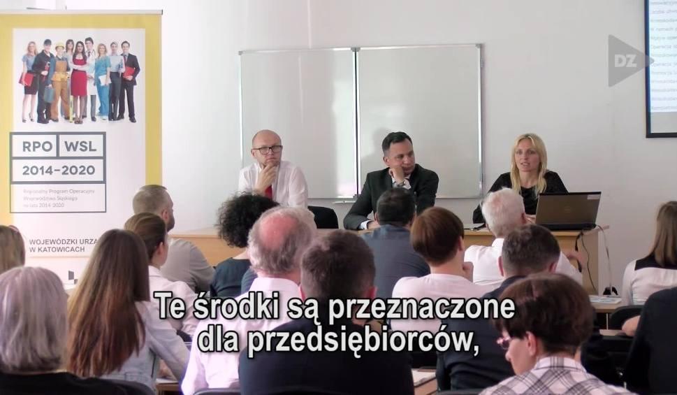 Film do artykułu: Częstochowa. Spotkanie informacyjne dla przedsiębiorców subregionu północnego