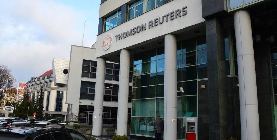 Agencja Thomson Reuters ma siedzibę przy ul. Śląskiej w Gdyni