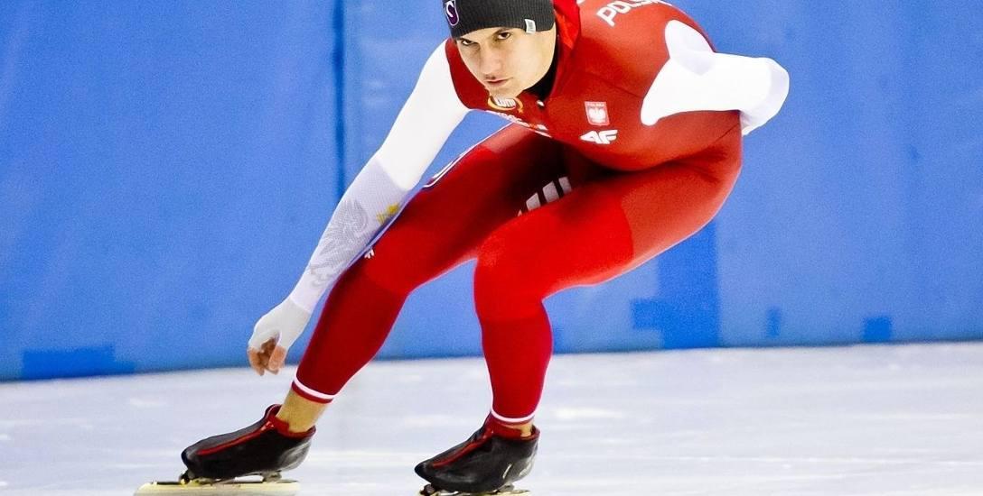 Piotr Michalski ma 23 lata i jest jednym z najlepszych sprinterów w Polsce.