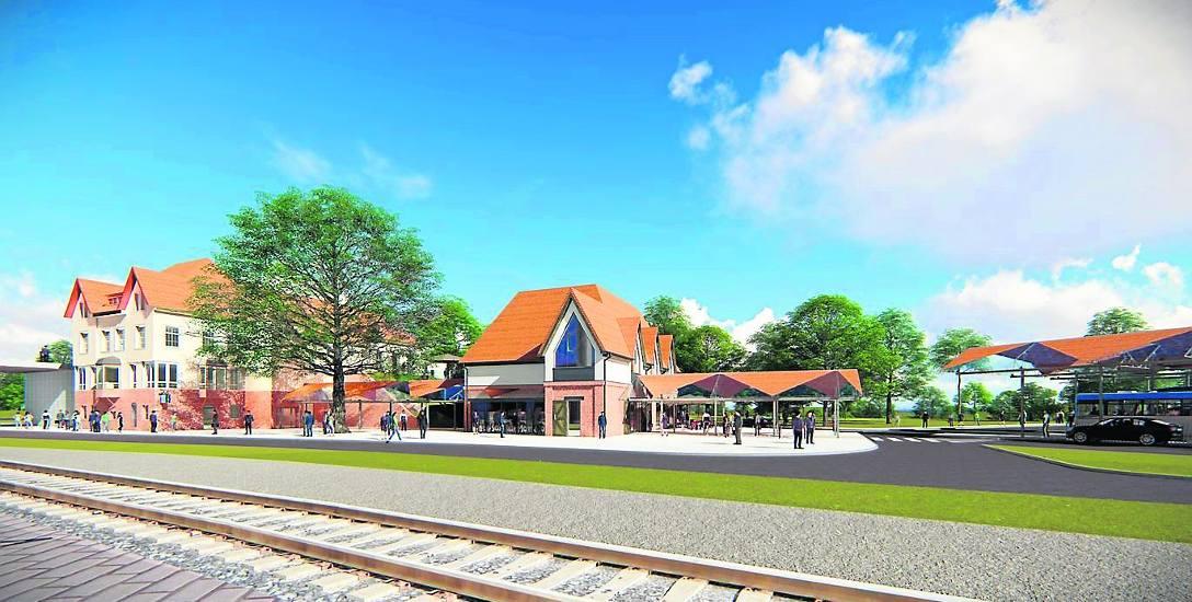 Koncepcja odnowionego dworca kolejowego i całkiem nowego dworca autobusowego pozostaje na razie na papierze. Nikt nie chce budować ani obiektów, ani