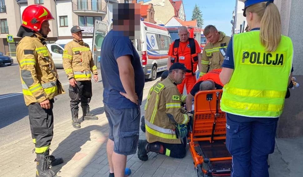 Film do artykułu: Potrącenie dziecka przez samochód ciężarowy w Lęborku. 21.06.2021 r. Dziewczynka trafiła do szpitala. Kierowca TIR-a był trzeźwy