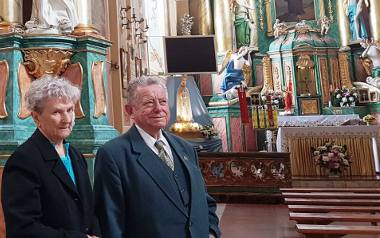 Miłość, wierność i uczciwość małżeńską ślubowali 60 lat temu w Ostrołęce - diamentowe gody państwa Szocińskich