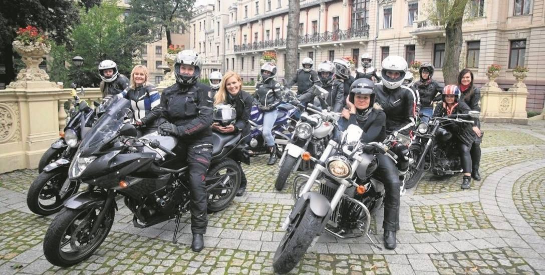 Łódzkie motocyklistki pozowały  do zdjęć do kalendarza