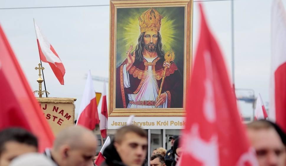 Film do artykułu: Marsz Niepodległości 2019 zdominował obchody święta 11 listopada [ZDJĘCIA] [WIDEO] W Warszawie odbył się też Marsz Antyfaszystowski