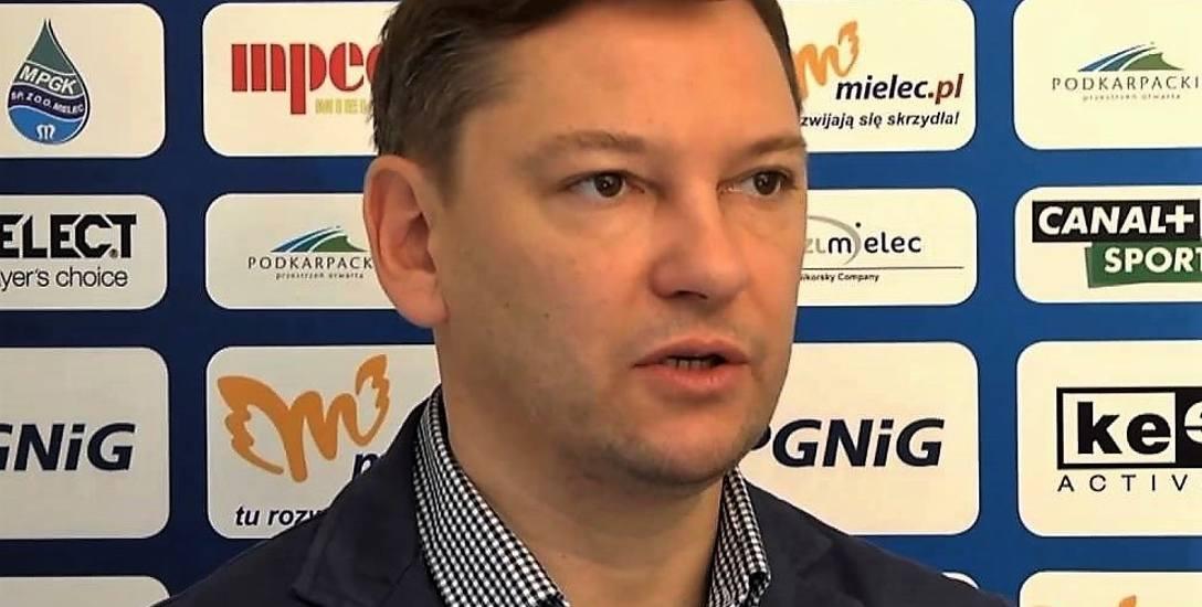 Prezes SPR Stali Mielec (na zdjęciu) jest przekonany, że zespół wyjdzie z kryzysu