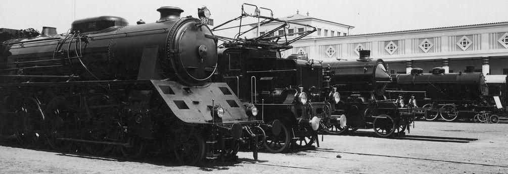 Wystawa parowozów w Poznaniu