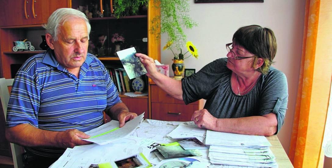 Krystyna Murawiecka i Witold Milewski walczą o naprawę - ich zdaniem - nieszczelnego komina. Swoje prośby o interwencję kierowali m.in. do spółdzielni