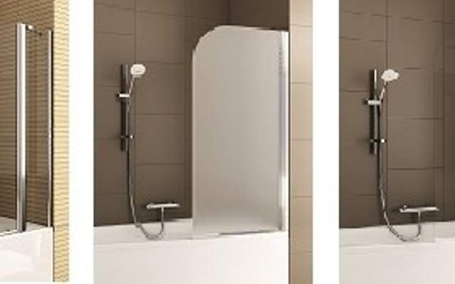 Rodzaj szkła w parawanie dobieramy do naszych upodobań i charakteru łazienki.Do wyboru jest szkło przejrzyste, matowe lub malowane dekoracyjnie.