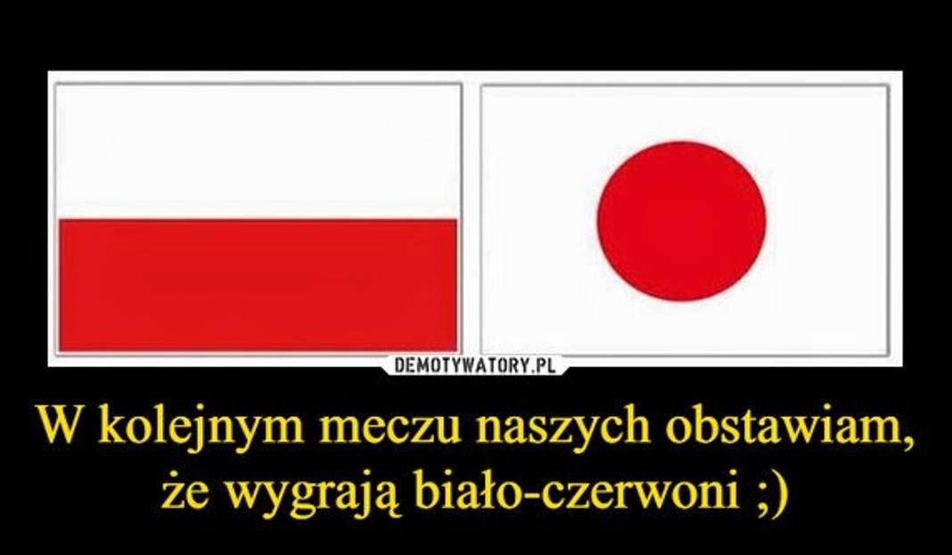 Mecz Polska - Japonia. Memy, które powstają na nasze starcie o honor, są bardzo dosadne. Internauci nie zostawiają na kadrze suchej nitki i tworzą śmieszne
