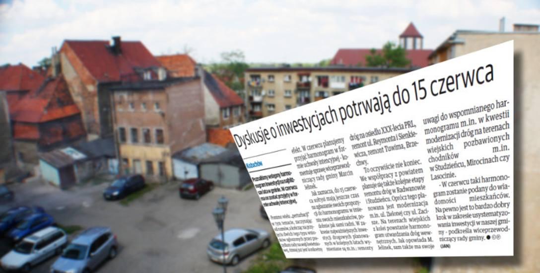 """O pracach nad harmonogramem inwestycyjnym pisaliśmy już w ostatnim """"Tygodniku Nowej Soli""""."""