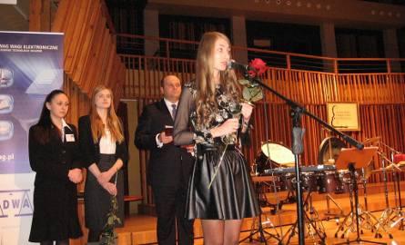 Najpierw było wręczenie stypendiów artystycznych - dziękuje Klaudia Kowalik.