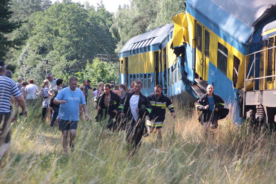 Wypadek w Korzybiu.