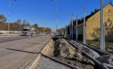 Kraków. Prace przy przebudowie ulicy Igołomskiej idą pełna parą [ZDJĘCIA]