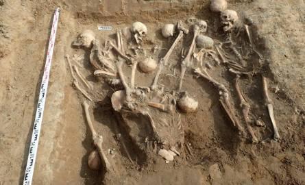 Na tyłach szpitala przy ul. Walczaka odkryto zbiorowe mogiły. Znajdowały się w nich szczątki Niemców. Prawdopodobnie to żołnierze, którzy po wojnie zmarli