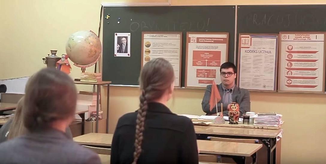 """Podpis pod zdjęcie: Kadr z filmiku """" Zjednoczeni w różnorodności"""", który można obejrzeć w serwisie You Tube."""