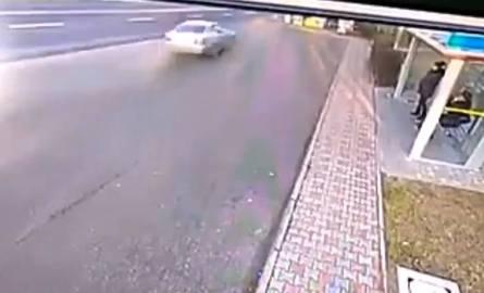 Śmiertelny wypadek w Stalowej Woli. Zobacz nagranie z kamery monitoringu (WIDEO)