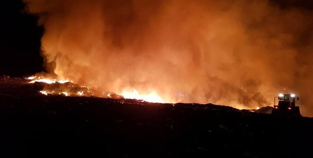 Pożar w Zielonej Górze Raculi wybuchł poniedziałkową (17 lipca) nocą.