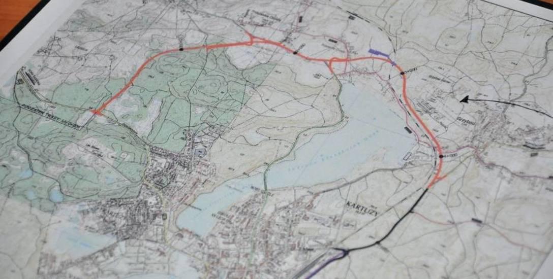 Radni kłócą się z burmistrzem o budowę II etapu obwodnicy Kartuz