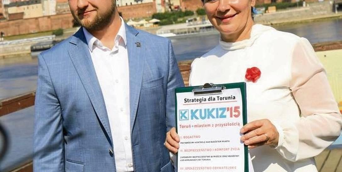 Znamy kolejnego kandydata na prezydenta Torunia - zaprezentował go Kukiz'15