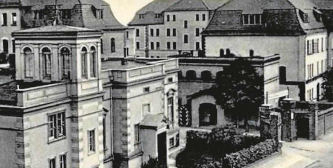 Tak na początku XX wieku wyglądały budynki wojskowe, które powstały przy dzisiejszej ulicy Żeromskiego.
