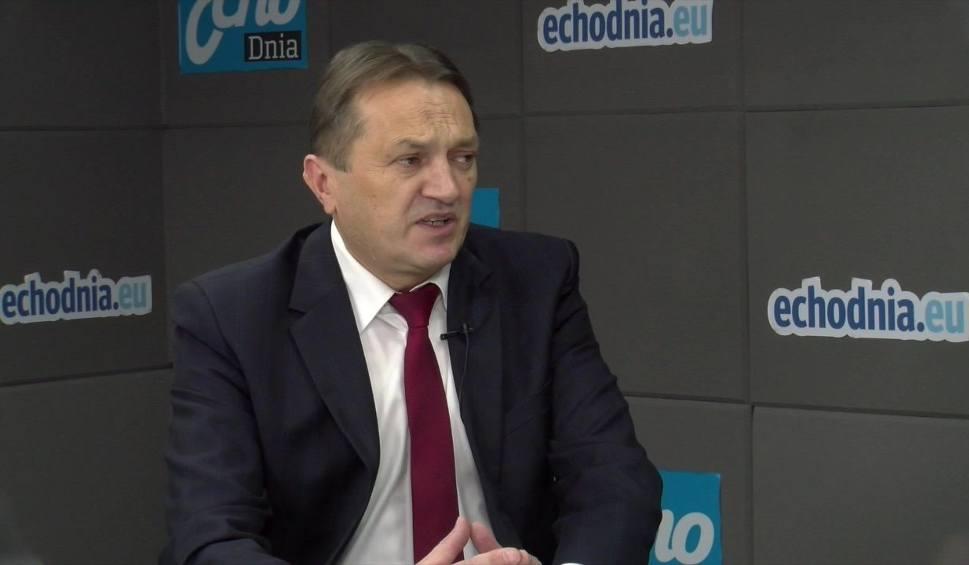 Film do artykułu: GOŚĆ DNIA: Mirosław Gębski o zwolnieniach w Starostwie Powiatowym w Kielcach