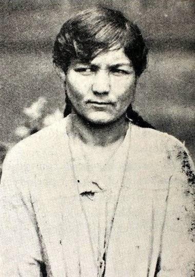 Marianna Dolińska, zdjęcie wykonane w szpitalu psychiatrycznym