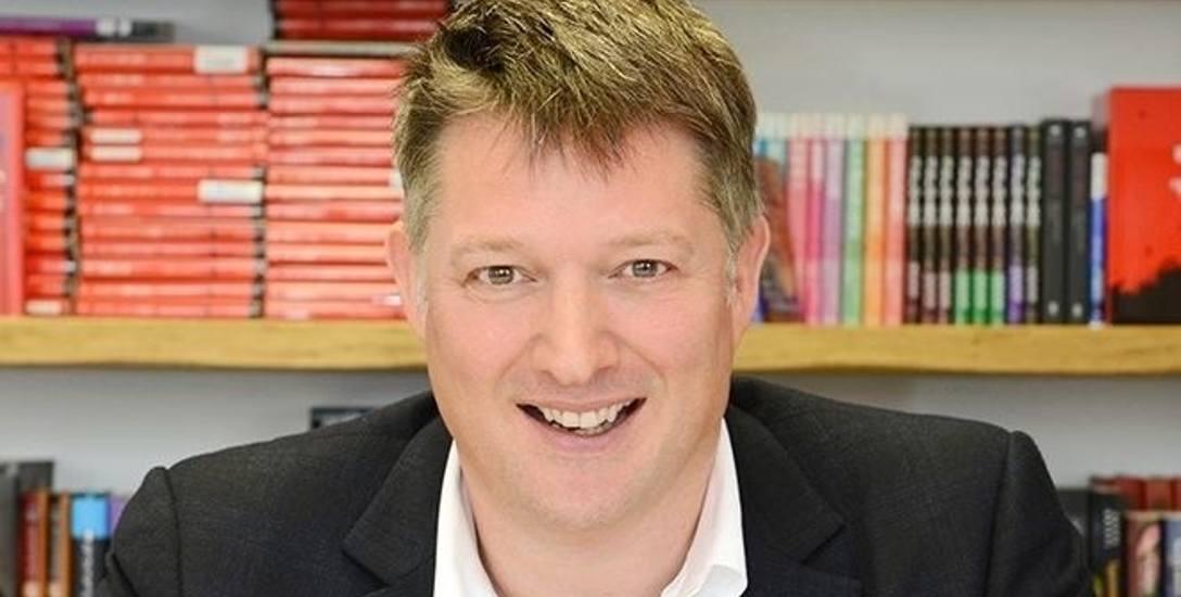James Prichard od niedawna zarządza dorobkiem Agathy Christie