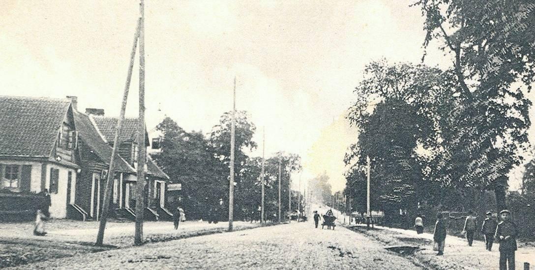 Stawy przy ulicy Mickiewicza już na początku XX wieku zaczęły być popularnym miejscem wypoczynku. Fot. ze zbiorów Muzeum Podlaskiego w Białymstoku.