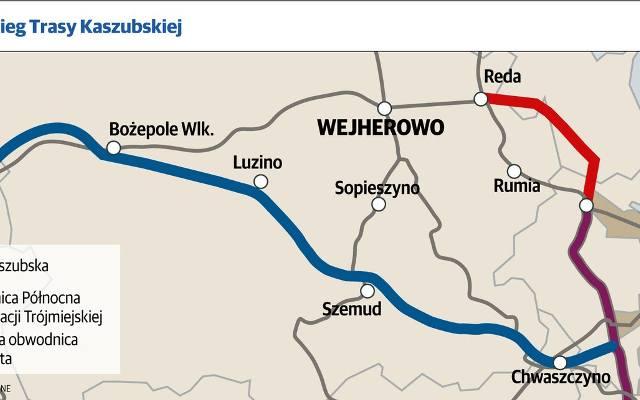 Obwodnica Kaszubska Mapa Dziennikbaltycki Pl