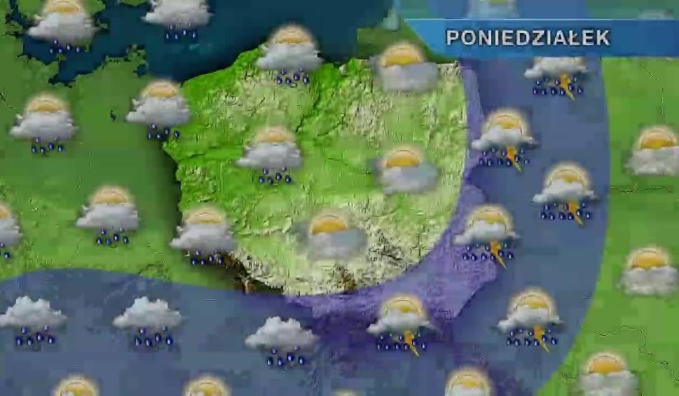 Film do artykułu: Pogoda w Szczecinie i regionie. W poniedziałek chłodniej