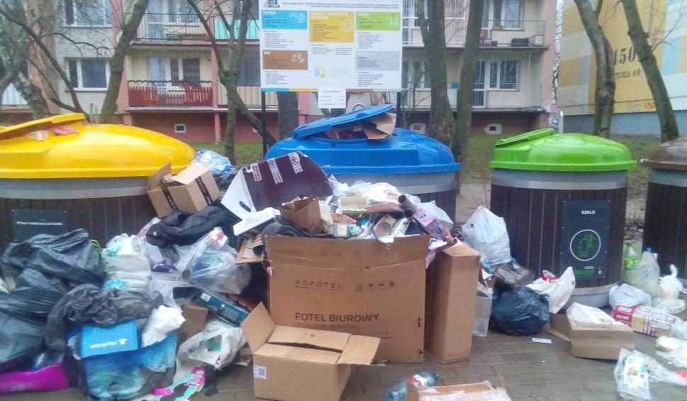 Film do artykułu: Przepełnione kosze na śmieci w Łodzi. To dlatego, że łodzianie... przykładają się do segregacji