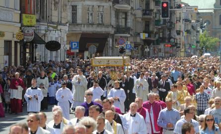 Boże Ciało: Procesja w Poznaniu przejdzie ulicami centrum