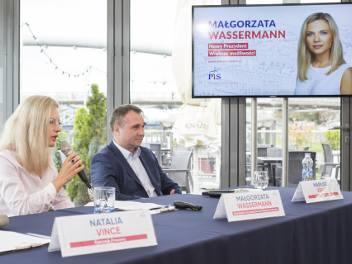 Małgorzata Wassermann i Mariusz Kękuś