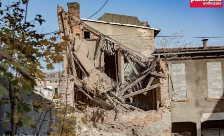 Katastrofa budowlana w Wałbrzychu. Zawaliła się synagoga [ZDJĘCIA]