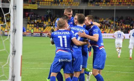 Podbeskidzie wygrało swój pierwszy mecz w lidze, pokonując u siebie Ruch Chorzów 1-0