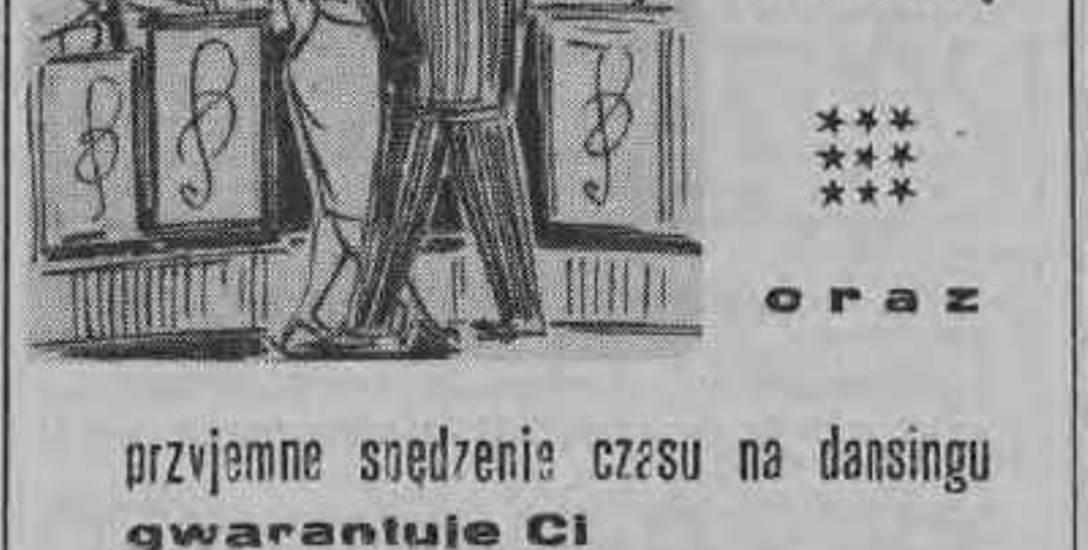 Reklama restauracji Lux ze stycznia 1959 roku zamieszczona w Gazecie Białostockiej.