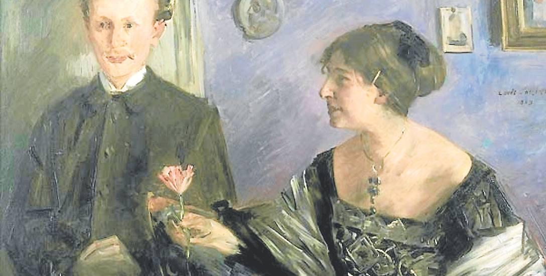 Georg Hirschfeld z żoną Ellą. Obraz z 1903 roku, namalowany przez Lovisa Corintha