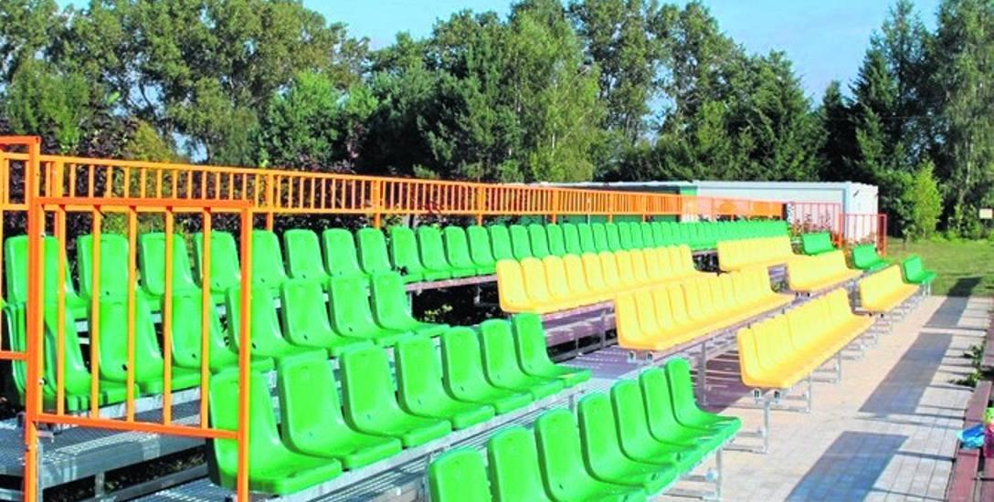 W tym roku za pieniądze z BO kupiono i zamontowano czterorzędową, stałą trybunę zewnętrzną na boisku w Suliszewie