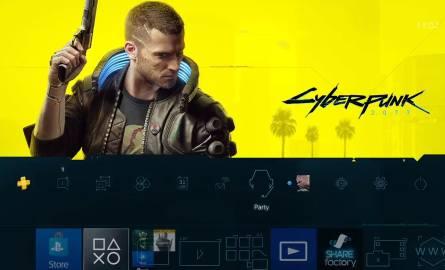 Cyberpunk 2077 - darmowy motyw z gry do pobrania w PS Store