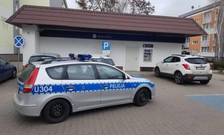 Zamaskowany sprawca napadł na placówkę bankową przy ulicy Zamenhofa w Lesznie