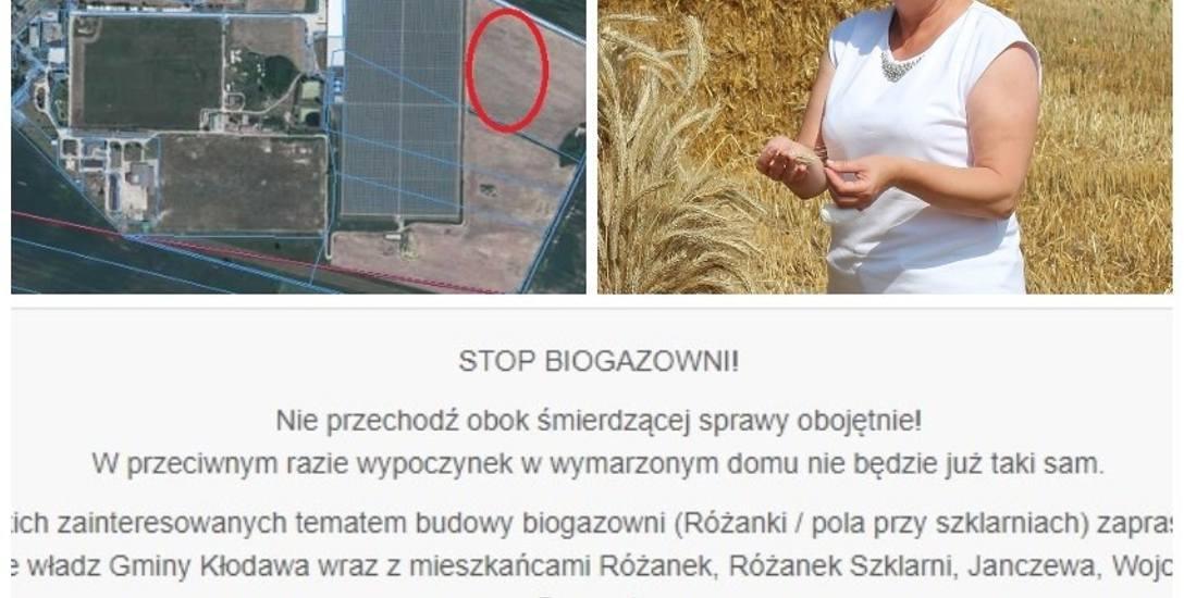 Przeciwna inwestycji jest też wójt Kłodawy Anna Mołodciak
