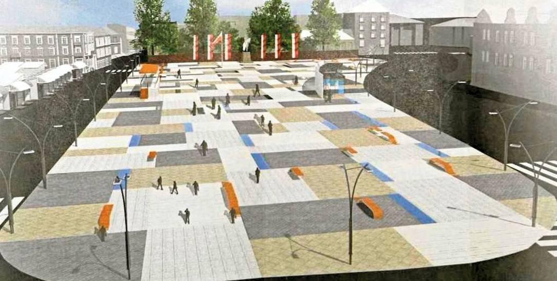 Plac Wolności w Rzeszowie bez drzew? Pomysł ten nie podoba się mieszkańcom stolicy Podkarpacia