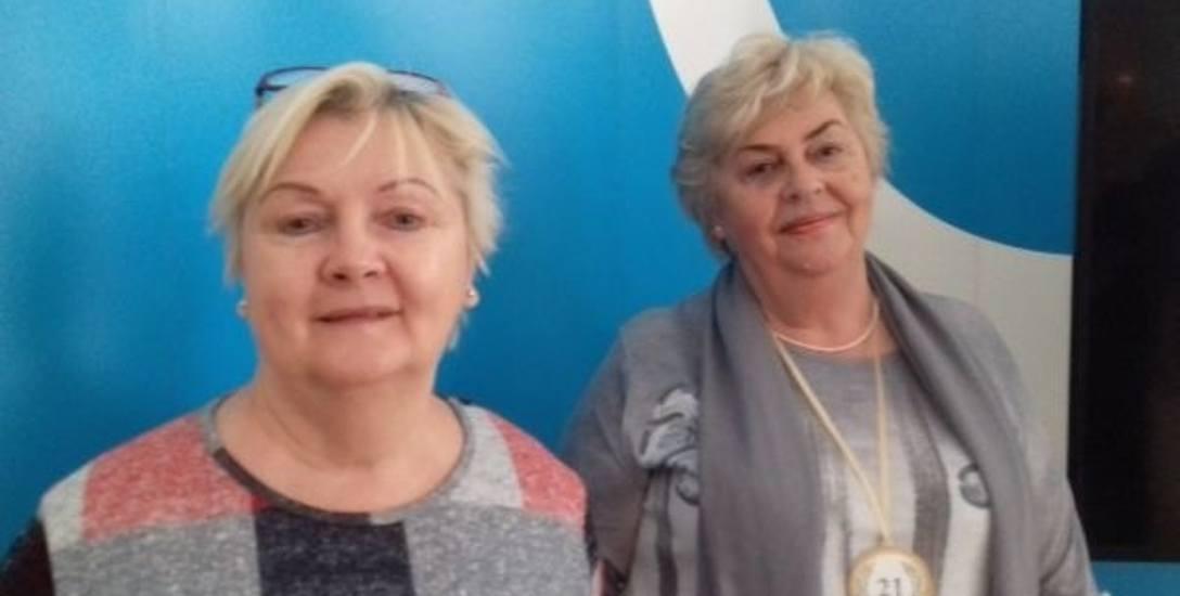 Teresa Zaraś i Anna Glapińsk