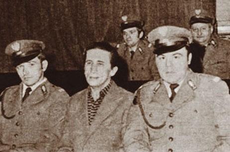 Zdzisław Marchwicki podczas rozprawy