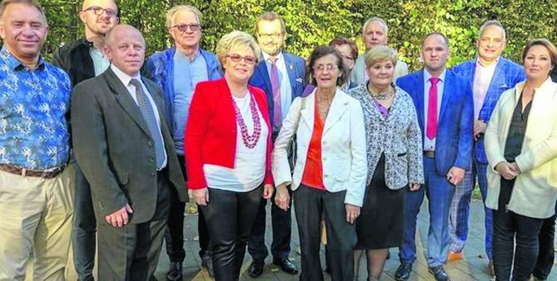 Kandydaci Konwentu Wójtów do Rady Powiatu zaprezentowali się przy kołobrzeskim bindażu